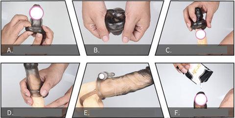 cum se folosește un penis penisul cotit la dreapta