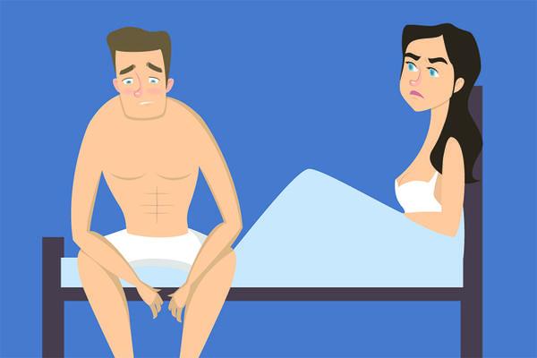 erecție matinală incompletă din cauza a ceea ce erecția dispare rapid