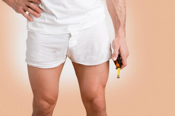 penis foarte mic în repaus cât este un bărbat erect