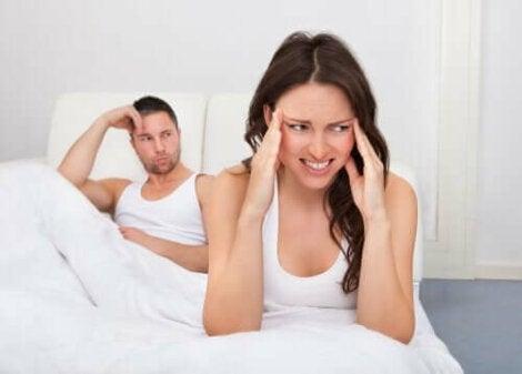 dacă erecția soțului dispare repede după primul act, erecția dispare